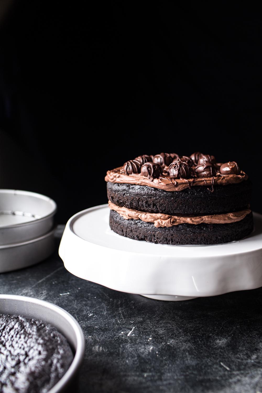 Western Family Chocolate Truffle Cake