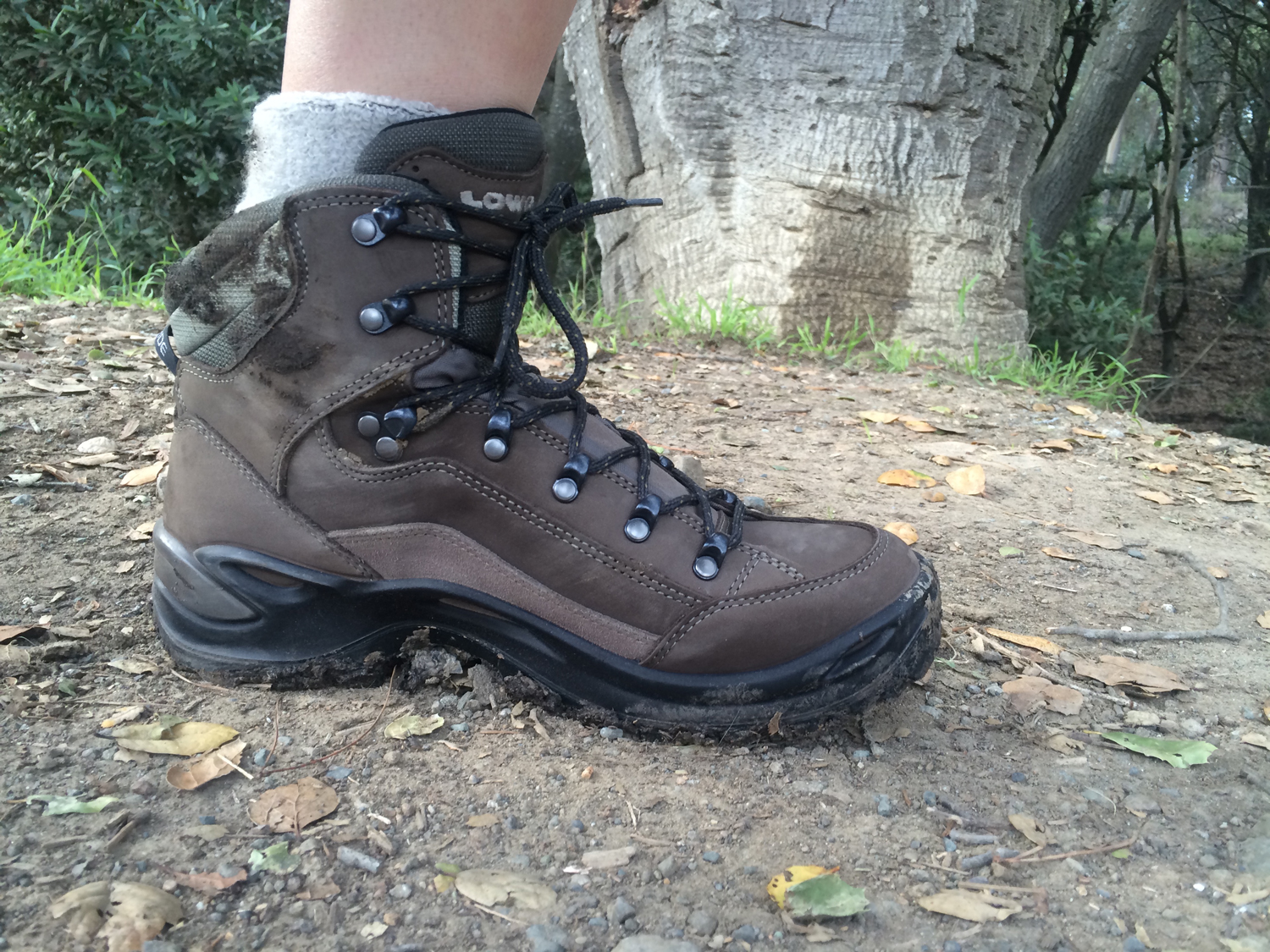 gear review women 39 s lowa renegade gtx mid hiking boots. Black Bedroom Furniture Sets. Home Design Ideas