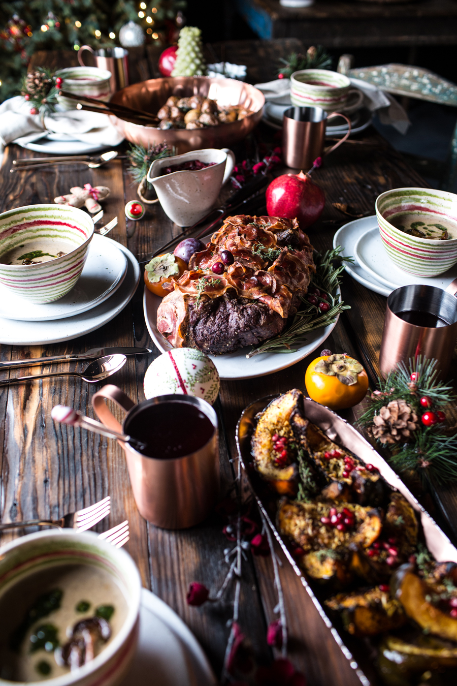 Christmas Ornament Party — Main and Sides