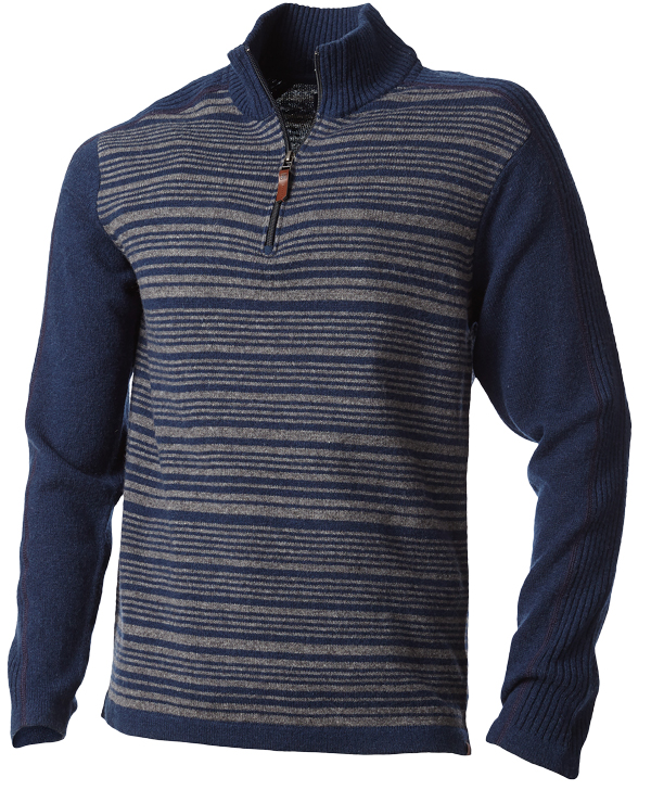 Men's Royal Robbins Fireside Wool Quarter-Zip Pullover